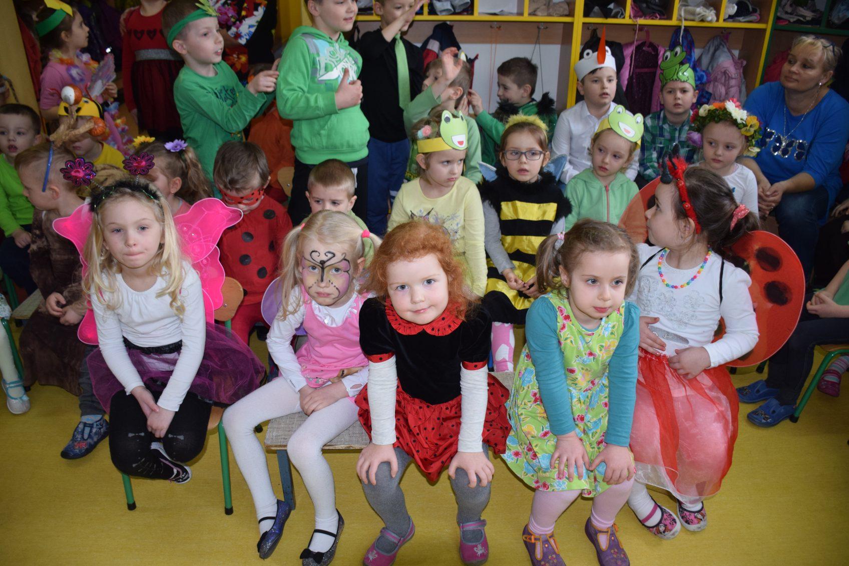 Powitanie Wiosny Przedszkole Pszczółka Maja